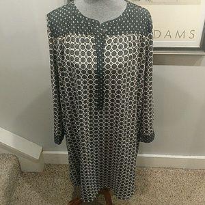 2XX Ann Taylor Loft Shirt Style Dress LNWOT